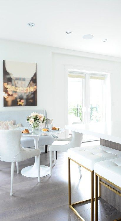 white home design idea