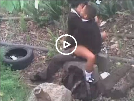 Video: Two Primary Students Run From school And Have Se.x In The Bush (DOWNLOAD VIDEO)