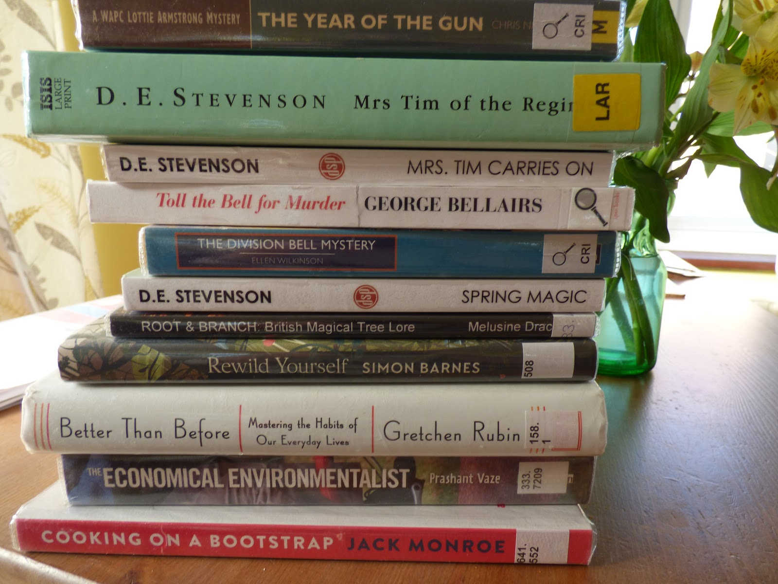 The Cottage at the End of a Lane: The March Library Book Haul