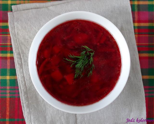 zupa z buraków