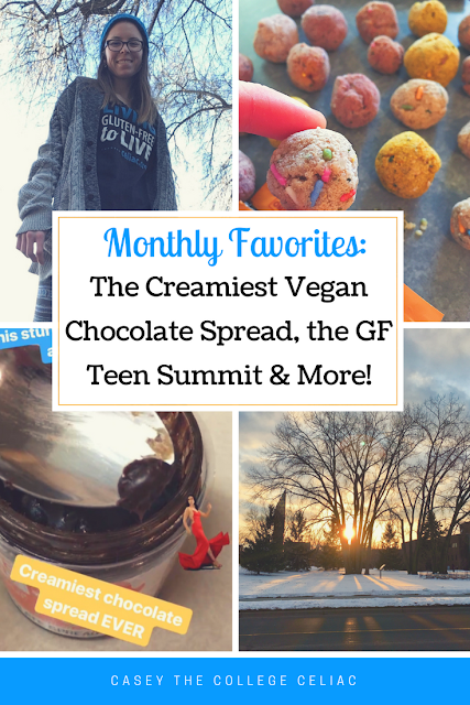 Gluten Free Monthly Favorites: The Creamiest Vegan Chocolate Spread, the GF Teen Summit and More