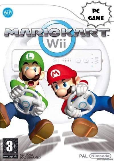 Mario Kart PC Full Version Wii Convertido Español DVD5