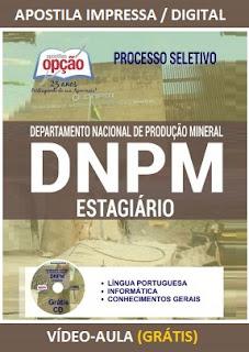 Apostila Departamento Nacional de Produção Mineral.