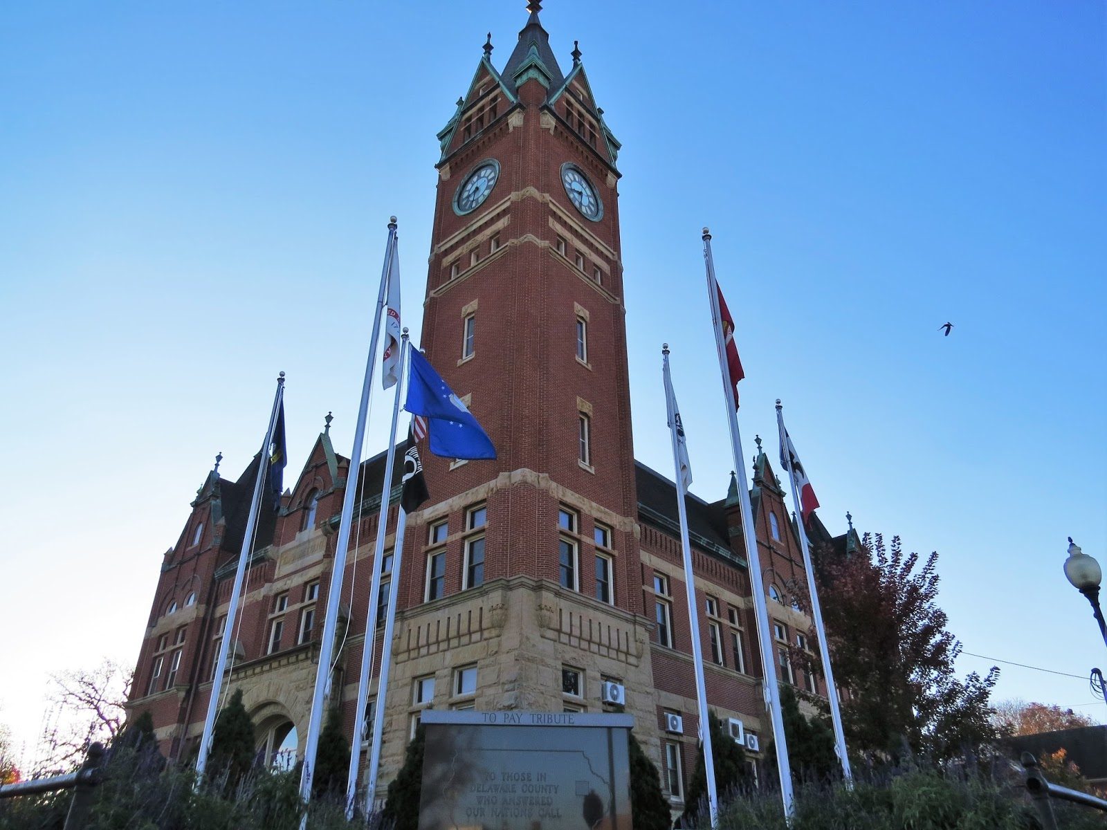 Liberty or Death: Delaware County Courthouse