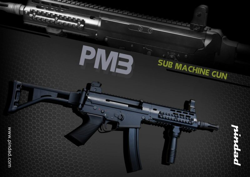 PM3 Pindad sub-machine gun