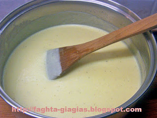 Κρέμα μπεσαμέλ (άσπρη σάλτσα) *αραιή* - από «Τα φαγητά της γιαγιάς»