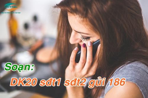 Đăng ký gói cước DK20 Viettel miễn phí 2000 phút gọi