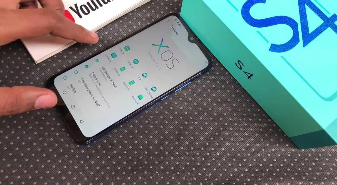 Infinix Hot S4 running Android 9.0 Pie + XOS 5.0 Cheetah