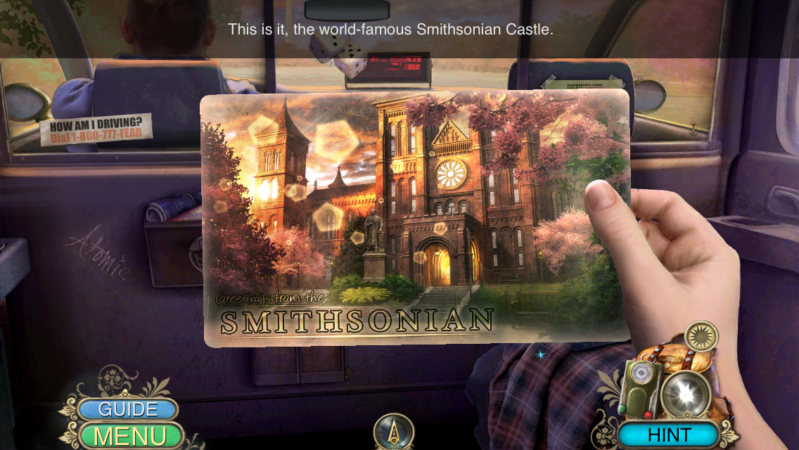 You will be given a list and be in a scene with many items. Hidden Expedition Smithsonian Hope Diamond App Review Outnumbered 3 To 1