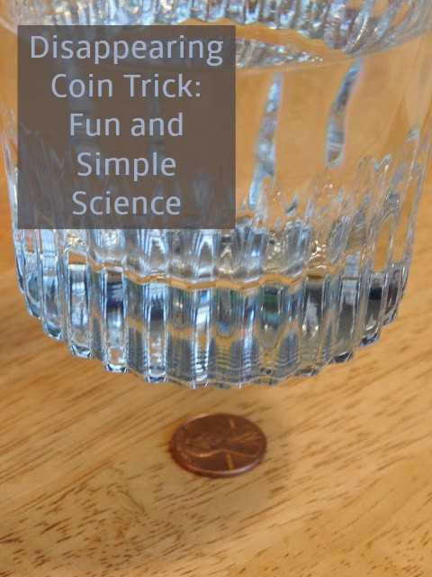 disappearing coin trick science experiment