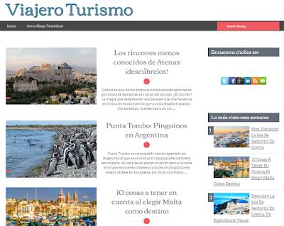 Viajero Turismo, blog de viajes y turismo