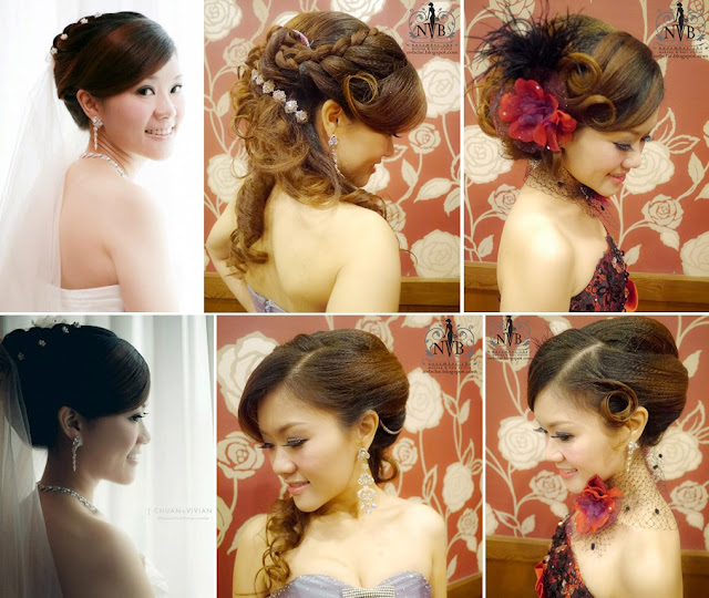 twisted braid bridal