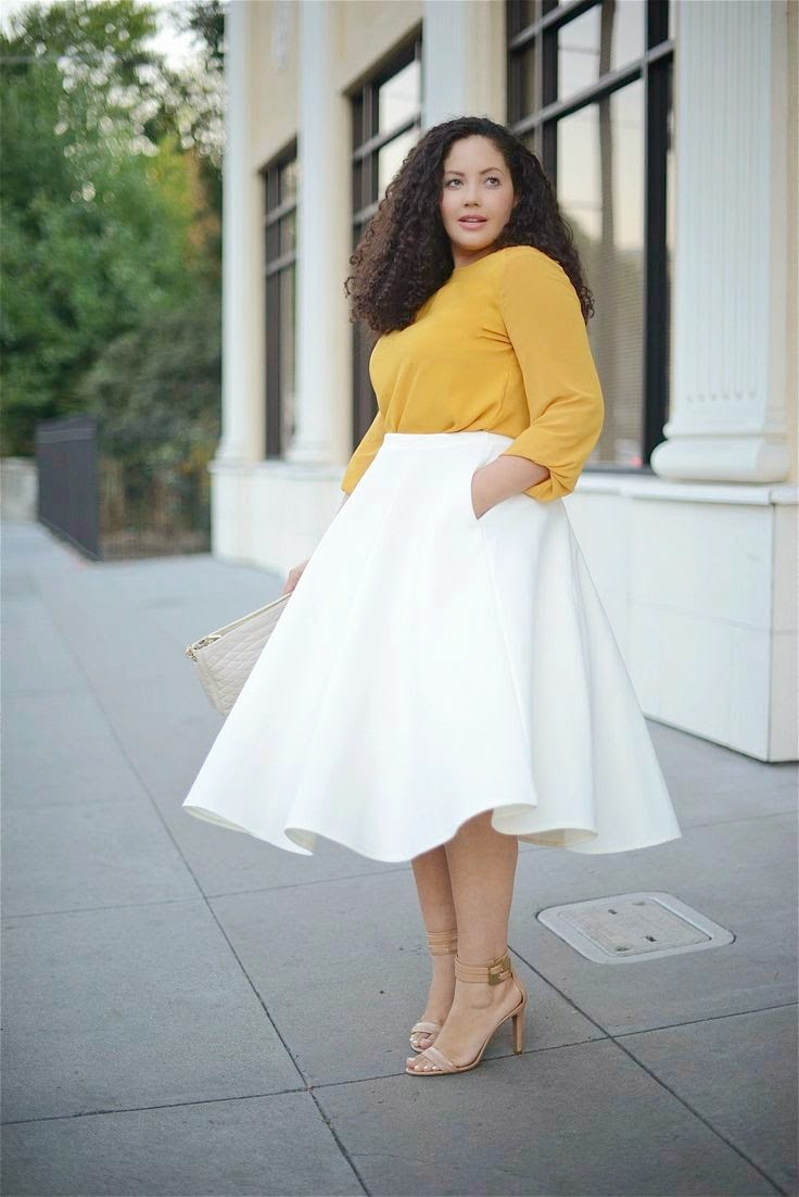 2019 year style- Waisted High skirts outfits pictures