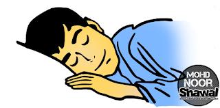 HADIS : Meninggal Ketika Tidur