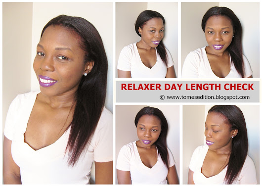 Relaxer Day Results: Length Check…