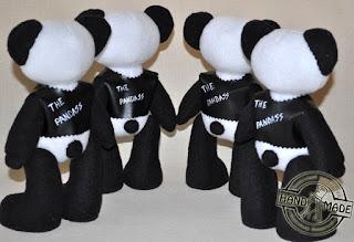 мягкая игрушка панда своими руками