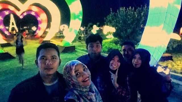 Lampion Taman Sampit
