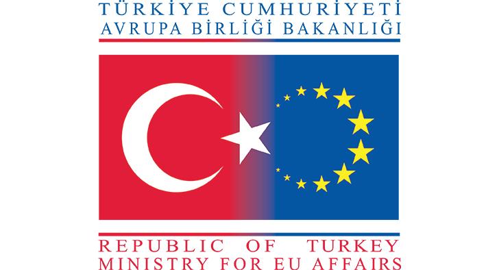 Avrupa Birliği Bakanlığı Vektörel Logosu