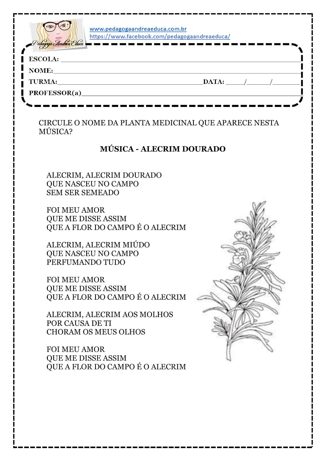 DOURADO PARA ALECRIM BAIXAR MUSICA