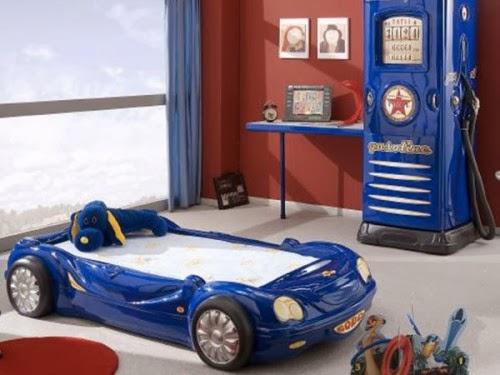 Habitación tema coche