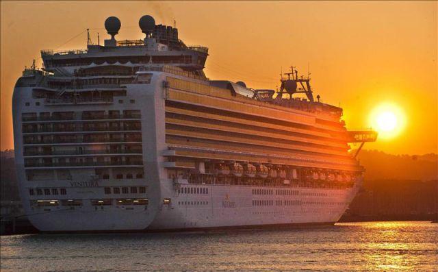 Fotos del crucero Ventura en Las palmas de Gran Canaria