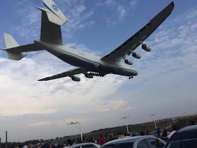 Antonov 225, Pesawat Terbesar Dunia Mendarat Di KLIA