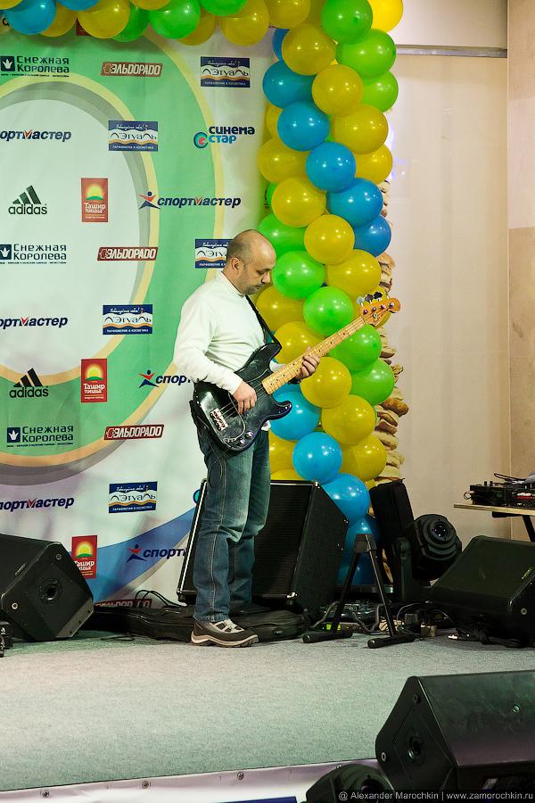 Cаундчек перед выступлением SalsaBoys