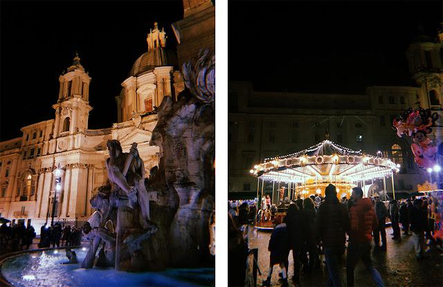piazza navona de noche