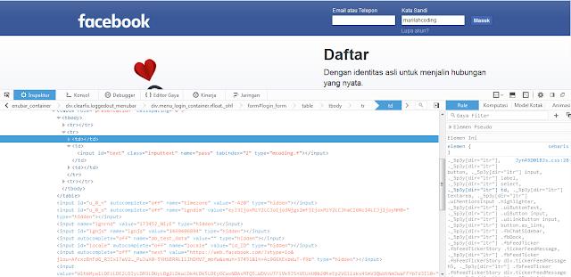 Cara Mengetahui atau Melihat Password Facebook Orang Lain
