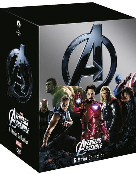 Marvel Filme Box