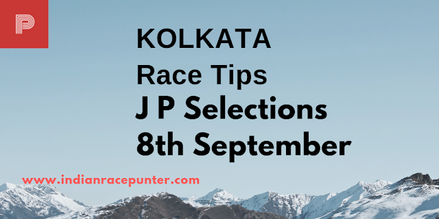 Kolkata Race Tips September 8,2018, India Race Com, Indiaracecom