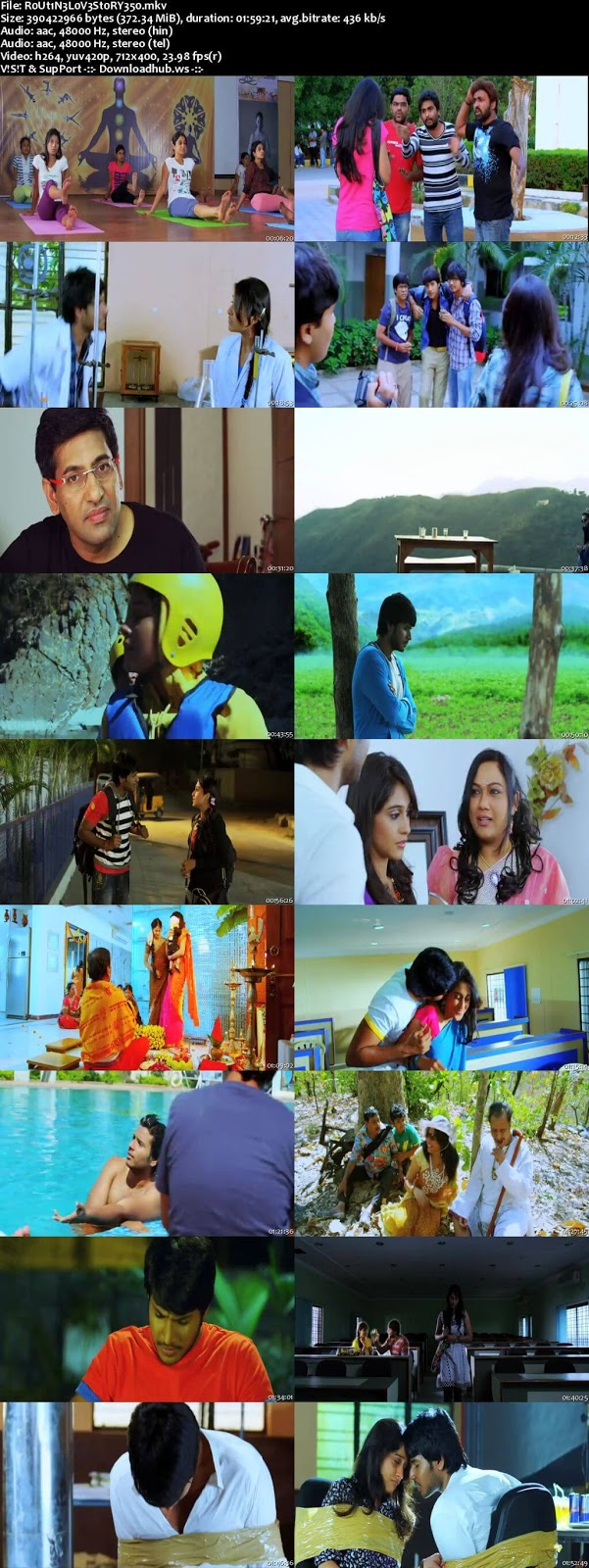 Routine Love Story 2012 UNCUT Hindi Dual Audio 480p BluRay Free Download