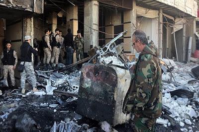 Damaskus dan Homs Diguncang BOM Dahsyat