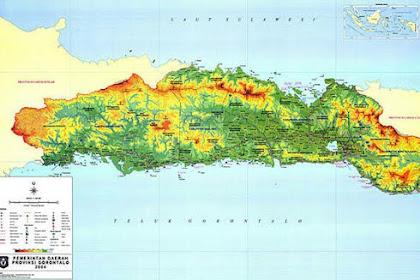 Daftar 5 Kabupaten Terbesar dan Terpadat di Provinsi Gorontalo Indonesia