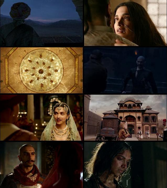 Bajirao Mastani 2015 Hindi 480p BluRay