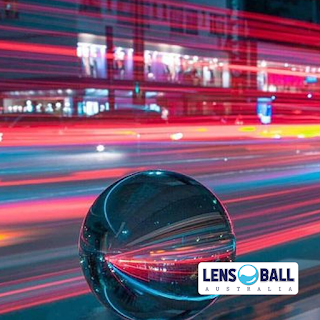 Blurred Lensball Timelapse Images