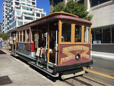 Roadtrip USA - on the road again - California - San Francisco cable car