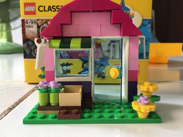 Review, đánh giá trò chơi lego bộ lắp ráp lego Classic 10692