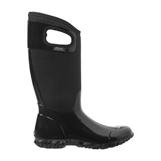 botas de caucho negras