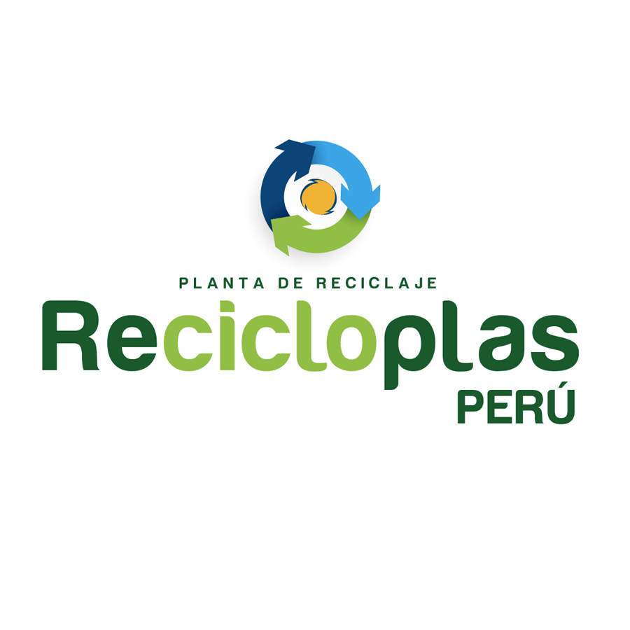 Logo RECICLOPLAS - Auspiciador III Congreso Internacional de la Industria Plástica, Lima, Perú, abril 2020