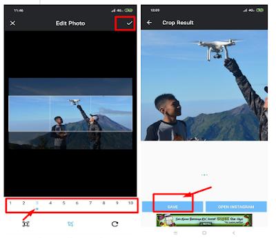 Cara menciptakan multiple panorama di postingan instagram √  Makin Menarik!! Ini Cara Praktis Buat Multiple Panorama Di Postingan Instagram