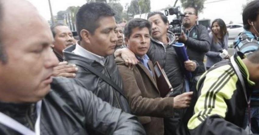 Tenemos una ministra bachiller que quiere evaluar a los profesionales, sostiene dirigente Pedro Castillo