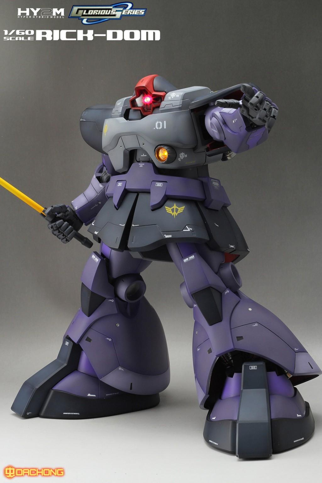 Thai Gundam Custom 1 60 Rick Dom Hy2m Custom