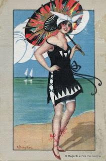 cpa femme des années 20