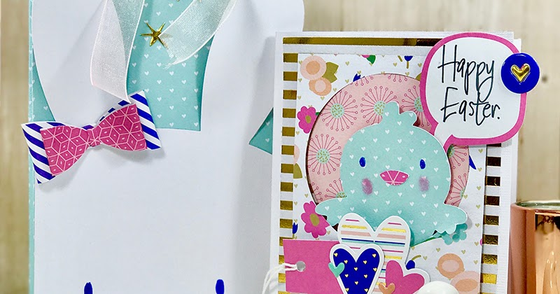 Make a DIY Easter Bag & Card set in an hour