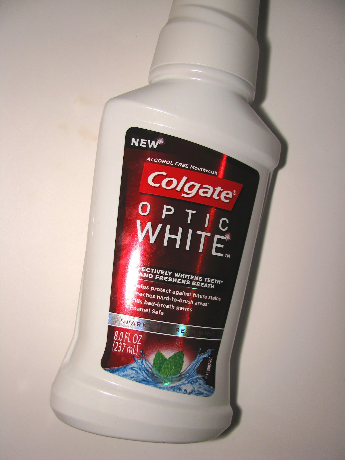 Colgate Optic White Review >> The Beauty Alchemist: Colgate Optic White Mouthwash