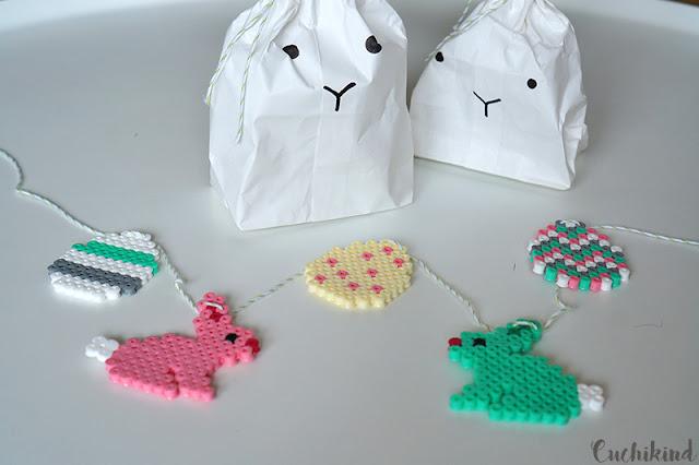 Hasen aus Papiertüten