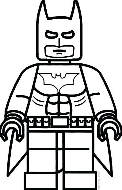 gambar mewarnai batman lego gambar mewarnai lucu