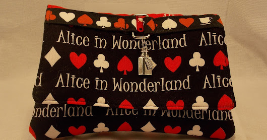 Gypsy Spoonful #Wonderfully Whimsical Alice in Wonderland Wallet Clutch Bag