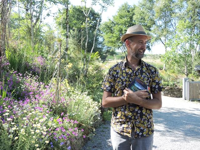 Jimi Blake, Besitzer von Hunting Brook Gardens